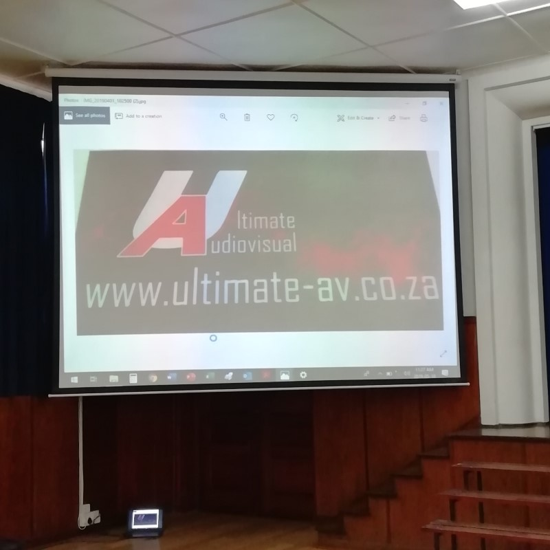 Ultimate Audiovisual - Audiovisual Products - Cape Town